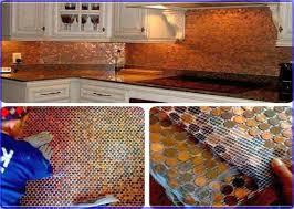 Copper Backsplash Tiles Copper Backsplash Adds Personality To - Copper tile backsplash