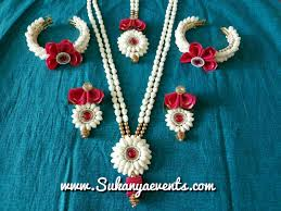flower jewellery dohale jevan decoration and idea from sukanya events join fresh