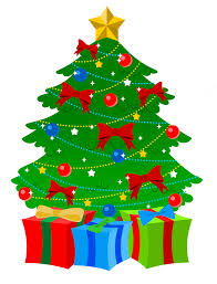 clipart tree with presents clipground