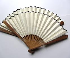 bamboo fans 2018 vintage blank white folding fans rice paper