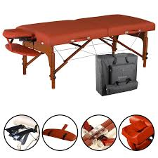 sierra comfort all inclusive portable massage table master massage 31 santana lx portable massage table package with