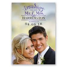 wedding announcements introducing wedding announcement invitations by