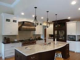 Kitchen Island With Oven by Fancy Industrial Residential Kitchen Features White Kitchen