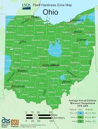 Map Of Sandusky Ohio by Ohio Plant Hardiness Zone Map U2022 Mapsof Net