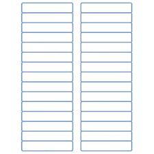 Avery Template 30 Labels Per Sheet by File Folder Labels Laser Labels Inkjet Labels 2 3 X 3 7 16