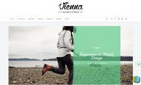 vienna blogger template web graphics theme wp free pinterest