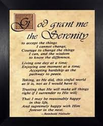 serenity prayer picture frame serenity prayer black frame god grant me serenity courage wisdom
