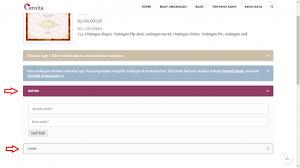 software pembuat undangan online tutorial pembuatan dan pemesanan undangan envita undangan