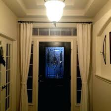 Doorway Privacy Curtains Front Door Curtains Sidelight Curtains Front Door Curtains Or