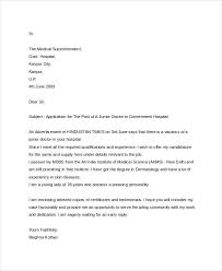 8 sample job application letter for doctors free u0026 premium