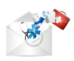 doctors prescription letter illustration royalty free stock image