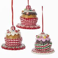 peppermint gingerbread sweet ornaments