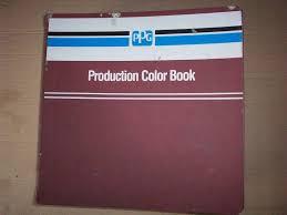 automotive color ppg paint chip book g m ford chrysler corp