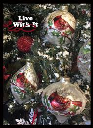 live with it by lora hobbs exclusives ornaments