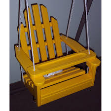 Hoohobbers Rocking Chair Prairie Leisure Kiddie Adirondack Chair Swing Hayneedle