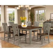 avalon shaker noveau 7 piece dining table set walmart com