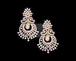diamond earrings diamond earrings designer diamond front back bali earrings