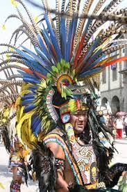 imagenes penachos aztecas relitrans concheros
