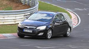 opel germany 2011 opel astra sports tourer spied on the nurburgring nordschleife