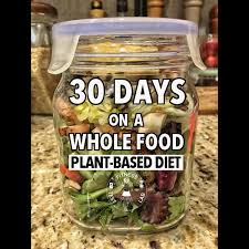 thirty days on a whole food plant based diet fitness test lab