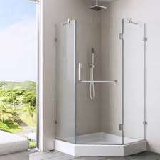 Angled Shower Doors Neo Angle Shower Doors For Less Overstock