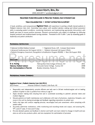 Sample Resume Nurses by Sample Resume Newly Graduated Nurses