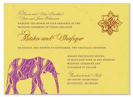 indian wedding invitation indian wedding cards curry yellow seeded paper painted elephant