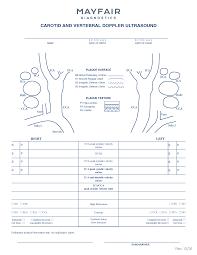 carotid ultrasound report template ultrasound worksheet resultinfos