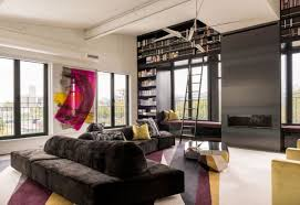 exuberant residence mixes three apartments into one u2013 home info