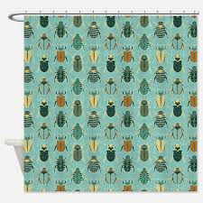 entomology shower curtains entomology fabric shower curtain liner