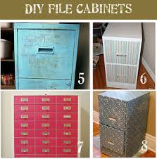 Diy File Cabinet 8 File Cabinet Makeovers Drab To Fab Tip Junkie