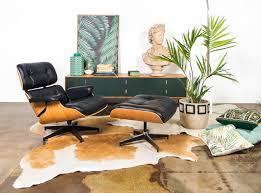 eames chair side table replica eames premium lounge chair and ottoman mattblatt