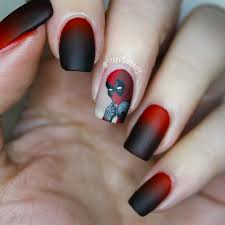 deadpool nail art best hairstyles ideas inspiration in 2017