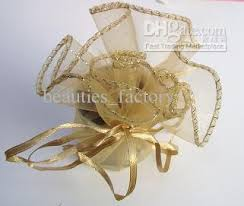organza favor bags gold organza bags wedding favor party gift bag new wedding