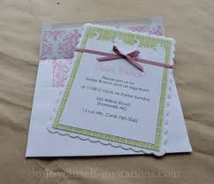 do it yourself invitations diy easter invitations ideas