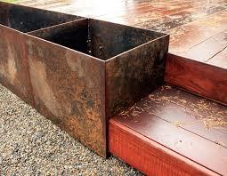 best 25 metal planter boxes ideas on pinterest metal electrical