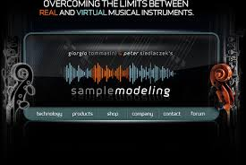 sample modeling home page