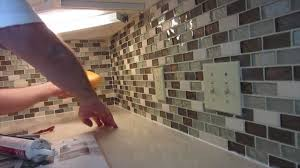 installing kitchen backsplash tile backsplash how to best installation kitchen backsplash glass