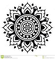 traditional design thai art pattern traditional design form thailand lai thai stock