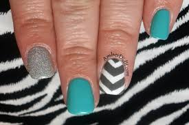 55 best chevron nail art ideas for girls