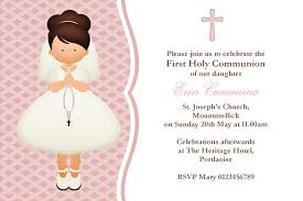 Confirmation Invitation Cards Personalised First Communion Invitations New Design 3