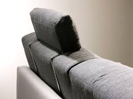repose tete canapé canapé contemporain en tissu 2 places avec repose tête cler