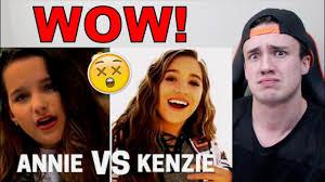Mackenzie Meme - annie leblanc vs mackenzie ziegler singing youtube