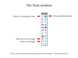 skills navigate the paint net user interface and use the toolbox