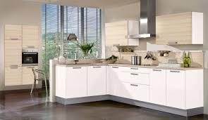 Wohnzimmerm El Creme Hochglanz Küche Hochglanz Creme Sympathisch Moderne Einbaukuche Norina