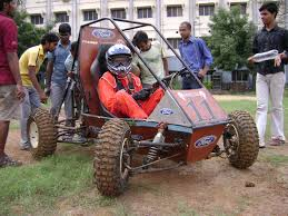 baja car iab baja special team ford garuda from mgr chennai