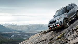 range rover concept land rover charges into the mountains with the discovery svx