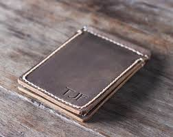 personal details resume minimalist wallet metal clippers money clips etsy