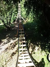 grandad builds rollercoaster in backyard for his grandchildren