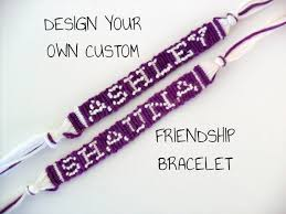 friendship bracelet with name images Have twins help out their teachers by getting them custom jpg